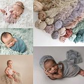 Float Faux Fur Newborn Photo Props