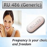 RU486 abortion pill buy online to terminate early pregnancy