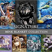 Signature Collection Queen Size Mink Blanket