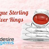 Sterling 925 Pure Silver Rings for Men & Women